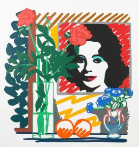 Still Life with Liz , 1992. Alkyd oil on cut-out steel ,72 x 96 inches © Estate of Tom Wesselmann/Licensed by VAGA, New York, NY